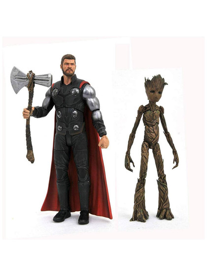 Marvel Select - Thor & Groot (Avengers Infinity War)