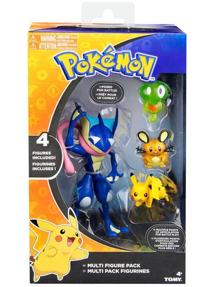 Pokemon - Greninja, Zygarde, Dedenne & Pikachu