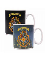 Harry Potter - Hogwarts Crest Heat Change Mug