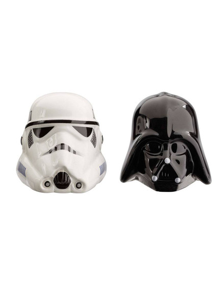 Star Wars - Darth Vader & Stormtrooper Salt and Pepper Shakers