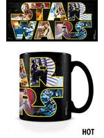 Star Wars - Logo Characters Heat Change Mug