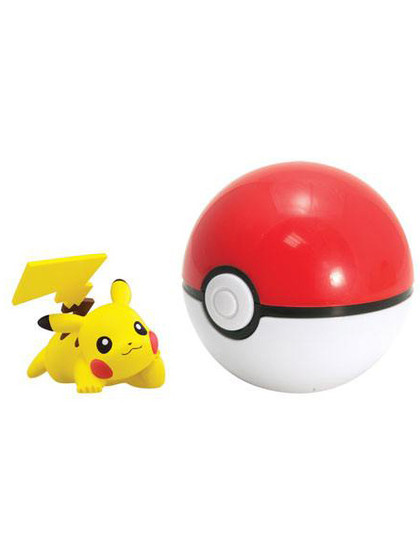 Pokemon - Pikachu Clip n Carry Poké Ball
