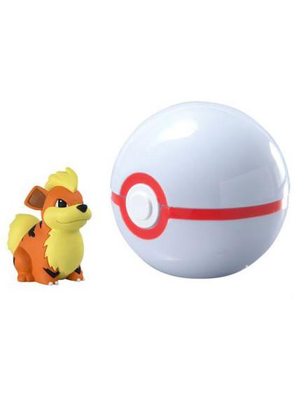 Pokemon - Growlithe Clip n Carry Premier Ball