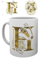 Harry Potter - Hufflepuff Monogram Mug