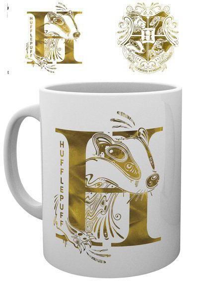Harry Potter - Hufflepuff Monogram Mug