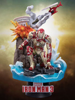 Iron Man 3 - Iron Man Mark XLII Diorama - D-Select