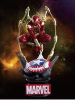 Marvel - Iron Spider-Man Diorama - D-Select