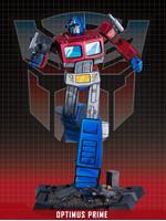 Transformers - Optimus Prime Classic Scale Statue