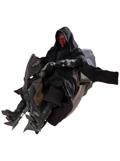 Star Wars Episode I - Darth Maul & Sith Speeder DX Series - 1/6