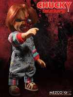 Child's Play - Pizza Face Chucky Talking Mega-Scale Doll