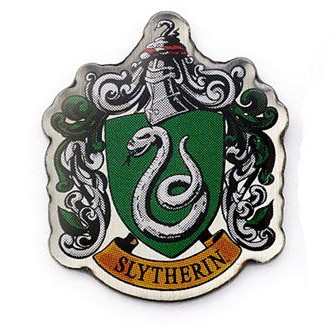 Harry Potter - Slytherin Crest Pin Badge
