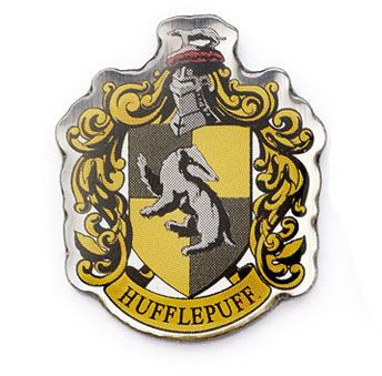Harry Potter - Hufflepuff Crest Pin Badge