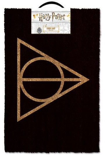 Harry Potter - Deathly Hallows Doormat 40 x 60 cm