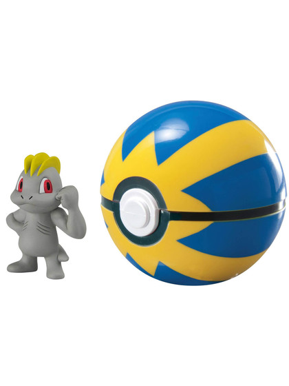 Pokemon - Machop Clip´n´Carry Quick Ball