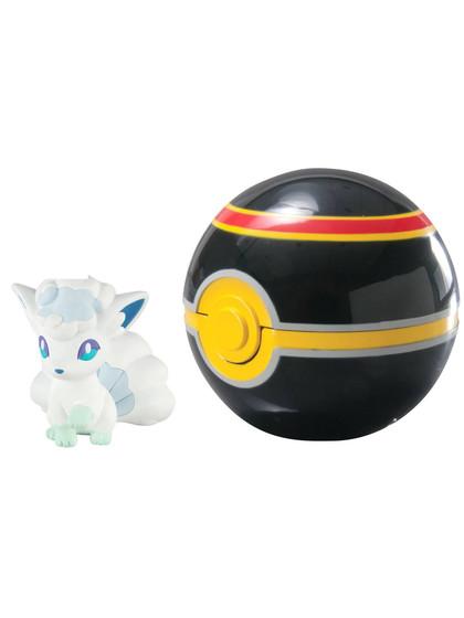 Pokemon - Alolan Vulpix Clip´n´Carry Luxury Ball