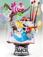 Alice in Wonderland D-Select Diorama - 15 cm