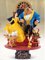 Beauty and the Beast D-Select Diorama - 15 cm