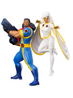 Marvel Universe - Bishop & Storm (X-Men '92) - Artfx+