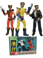 Marvel - Wolverine Retro Action Figure Set