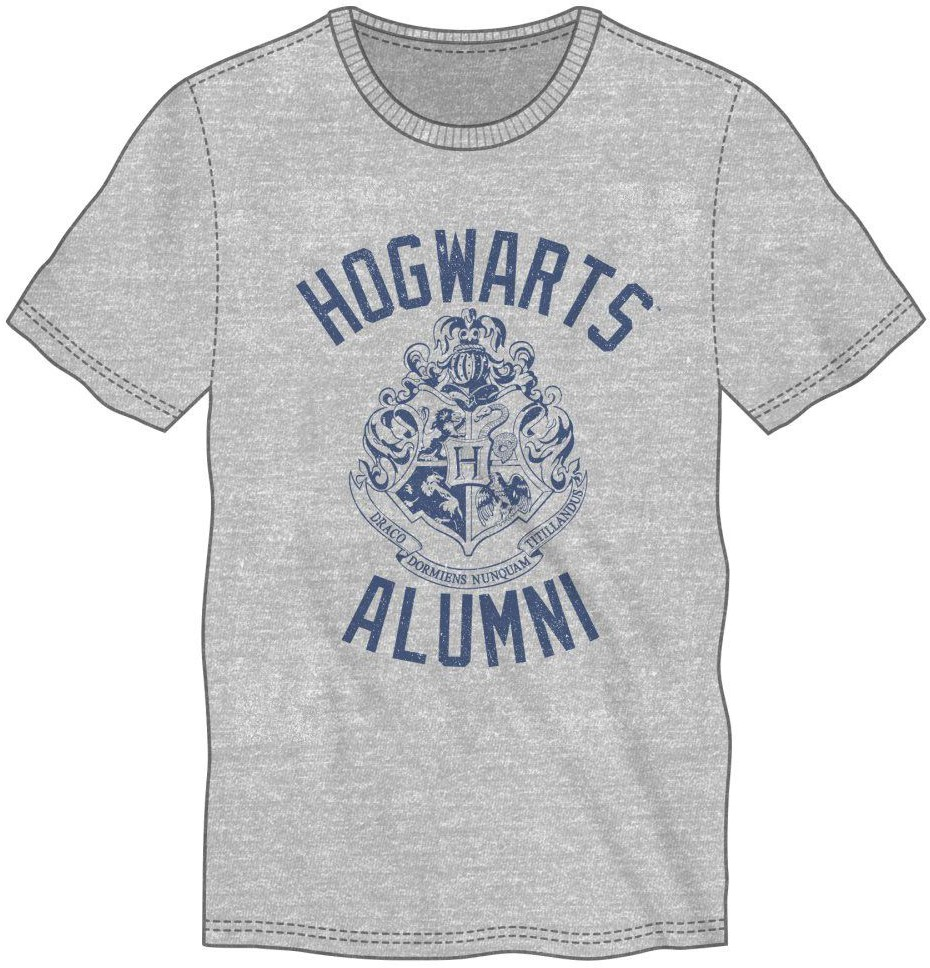 Harry Potter - Hogwarts Alumni T-Shirt Grey