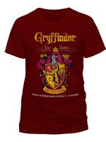 Harry Potter - Gryffindor Quidditch T-Shirt Red