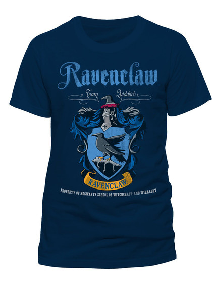 Harry Potter - Ravenclaw Quidditch T-Shirt Blue