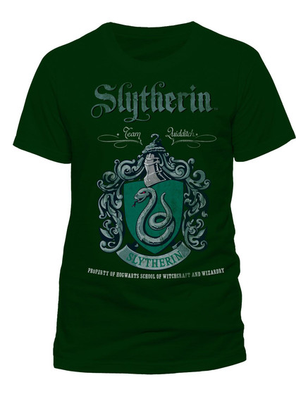 Harry Potter - Slytherin T-Shirt Green