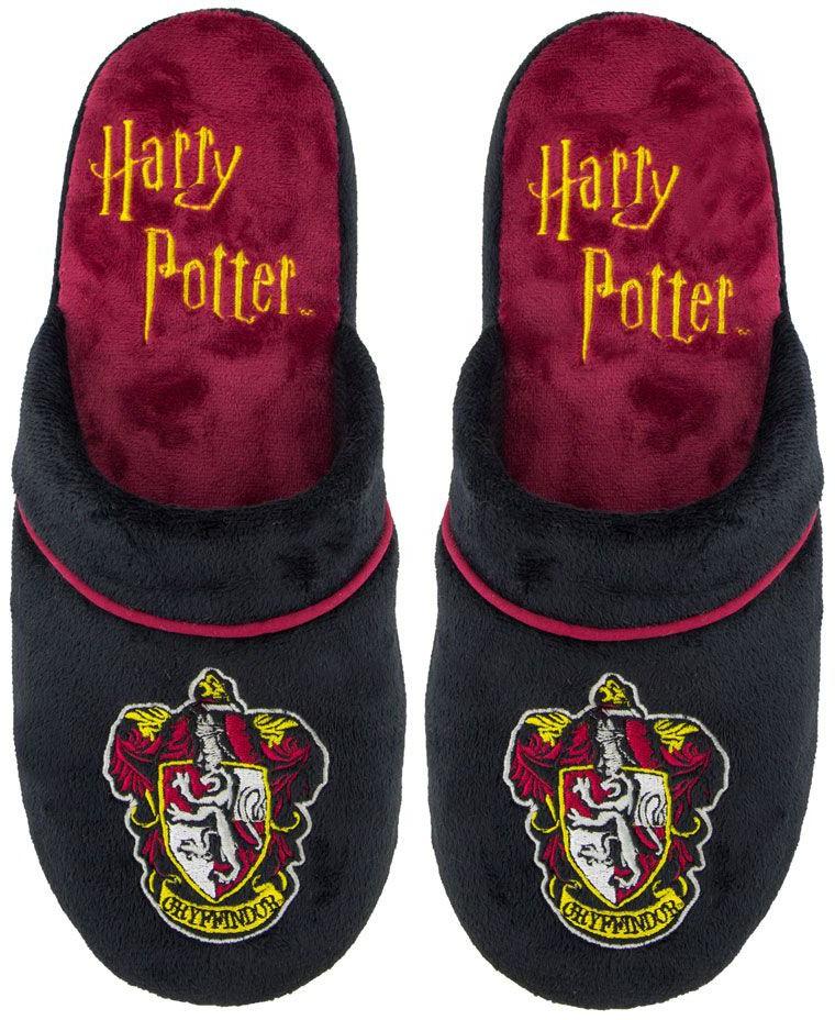 Harry Potter - Gryffindor Slippers Black