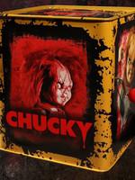Bride of Chucky - Scarred Chucky Burst-A-Box Music Box