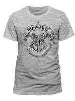 Harry Potter - Hogwarts T-Shirt Grey