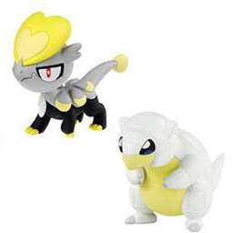 Pokemon - Alolan Sandshrew vs Jangmo-o