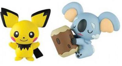 Pokemon - Komala vs Pichu