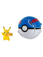 Pokemon - Pikachu Throw 'n' Pop Poké Ball
