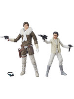 Star Wars Black Series - Leia & Han (Hoth) Exclusive