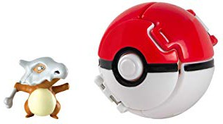 Pokemon - Cubone Throw 'n' Pop Poké Ball