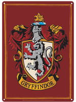 Harry Potter - Gryffindor Tin Sign - 21 x 15 cm