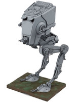 Star Wars - AT-ST Plastic Model Kit - 1/48