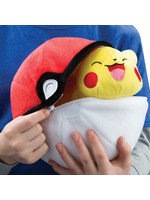 Pokemon - Pikachu with Pokeball Zipper Plush - 20 cm