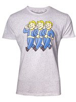 Fallout - Three Vault Boys T-Shirt