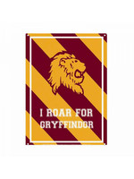 Harry Potter - Roar for Gryffindor Tin Sign - 21 x 15 cm