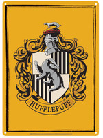 Harry Potter - Hufflepuff Tin Sign - 21 x 15 cm