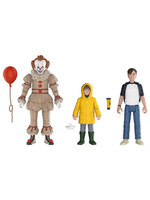 It 2017 - Pennywise, Bill, Georgie 3-Pack - 10 cm