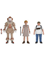 It 2017 - Pennywise, Ben, Beverly 3-Pack - 10 cm