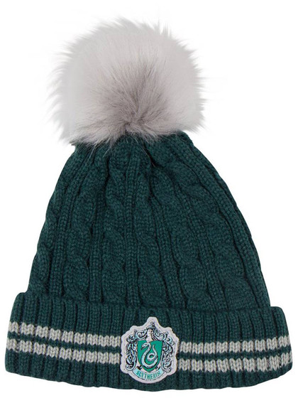 Harry Potter - Pom-Pom Beanie Slytherin