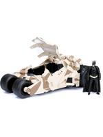 Batman -  2008 Batmobile Camo with figure Diecast Model - 1/24