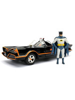 Batman 1966 - Batmobile with figure Diecast Model - 1/24