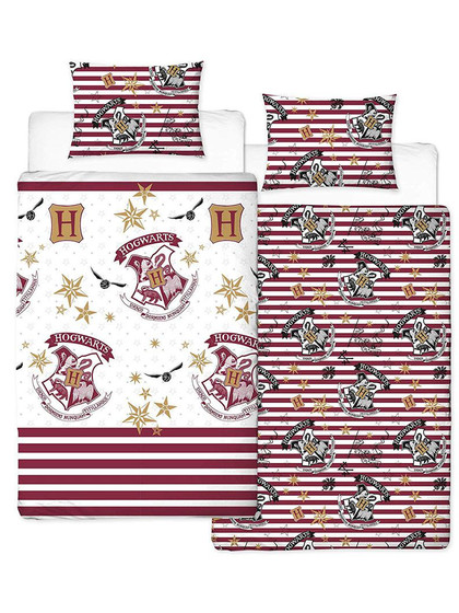 Harry Potter - Duvet Set Reversible Muggles 135 x 200 cm