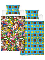Super Mario - Duvet Set Reversible Gang - 135 x 200 cm