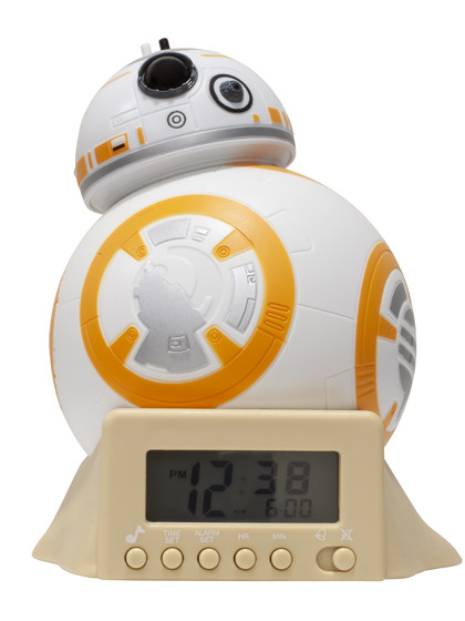 BulbBotz - Star Wars BB-8 Night Light Alarm Clock