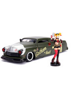 DC Bombshells - 1951 Mercury with Harley Quinn Figure - 1/24